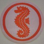 Aufbügel Abzeichen Seepferdchen auf www.schwimmbad.so
